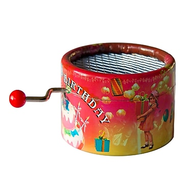 PML BPM114 Happy Birthday Hand Crank Musical Box