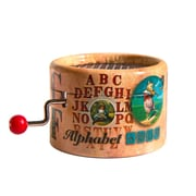 PML BPM164 Alphabet Song Hand Crank Musical Box