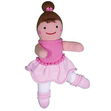 Zubels – Poupée BAL24 Belle Ballerine tricotée à la main 24 po