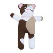Zubels – Poupée tricotée à la main, CATC12, Ms Meow, 12 po
