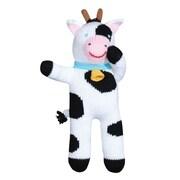 Zubels – Poupée tricotée à la main, COW24, Cow Cowleen, 24 po