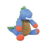 Zubels - Poupée DIN12 Rawrr Dino tricotée à la main, 12 po