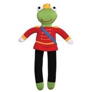 Zubels – Poupée tricotée à la main, FROP14, prince grenouille, 14 po