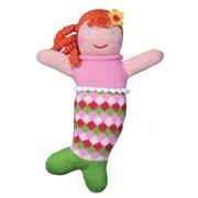 Zubels – Poupée tricotée à la main MER24 Pretty Pearly Penny de 24 po