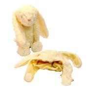 Zubels – Ensemble lapin et chapeau, 16 po, lapin en peluche super doux