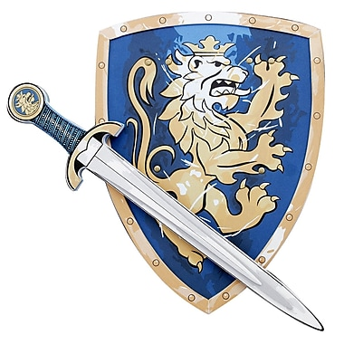 LionTouch Noble Knight Sword and Shield Blue