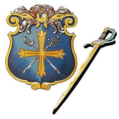 LionTouch – Épée et bouclier mousquetaire