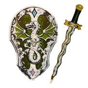 LionTouch – Épée et bouclier dragon