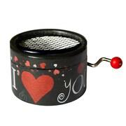 PML BPM134 Hymne a l'amour, Edith Piaf Hand Crank Musical Box