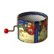 PML BPM028 Petit Papa Noel Hand Crank Musical Box