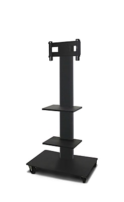 Marvel® Vizion® MVPFS3265DT2 TV/Monitor Stand and Mount with Two Equipment Shelves (holds 26