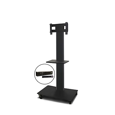 Marvel® Vizion® MVPFS3265DTH TV/Monitor Stand and Mount with Shelf and Hand-held Microphone (holds 26