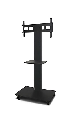 Marvel® Vizion® MVPFS6065DT TV/Monitor Stand and Mount with Equipment Shelf (holds 35
