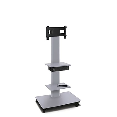 Marvel® Vizion® MVPFS3255ST2H TV/Monitor Stand and Mount with Two Shelves and Hand-held Microphone (holds 26