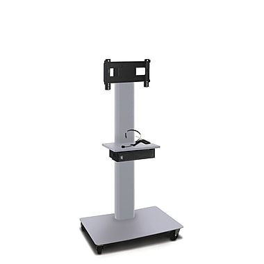 Marvel® Vizion® MVPFS3255STE TV/Monitor Stand and Mount with Shelf and AmpliVox Headset Microphone (holds 26