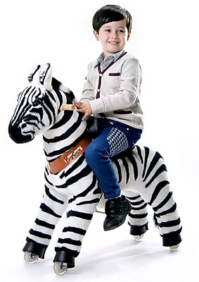 Vroom Rider X PonyCycle Ride-On Zebra