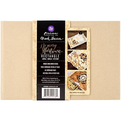 Prima Marketing Memory Hardware Chipboard Journal 5.75