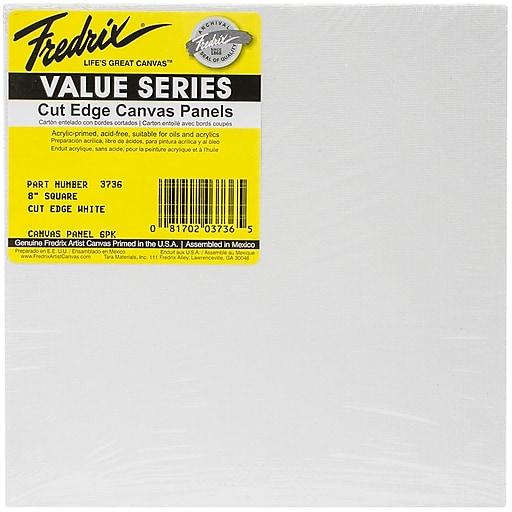 "Tara Fredix 8"" x 8"" Square Cut Edge Canvas Panel (633736)"