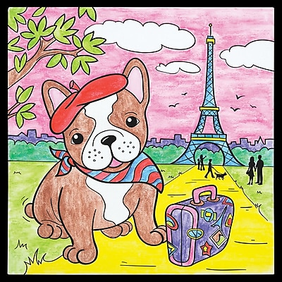 Faber-Castel Paint By Number Parisian Pooch Kit (14560)