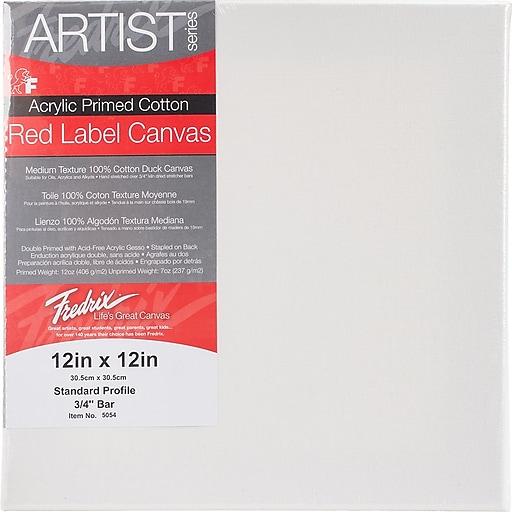 "Tara Fredrix 12"" X 12"" Stretched Canvas,"