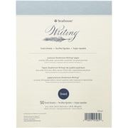 """Strathmore Writing Pad Lined, 6"""" X 8"""", Natural White, 50 sheets/PK (62572610)"""