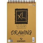 "Canson XL Recycled Drawing Paper Pad, 9"" x 12"", White (702-2430)"