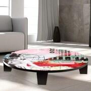 TAF DECOR Leap of Faith Table Art; 35'' W x 35'' D