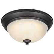 Westinghouse Lighting 1-Light Dimmable LED Flush Mount; Oil Rubbed Bronze