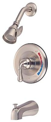 Kingston Brass Magellan Shower Faucet Trim; Satin Nickel