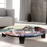 TAF DECOR Beautiful Ones Table Art; 35'' W x 35'' D