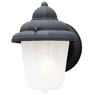 Westinghouse Lighting 1-Light Outdoor Sconce; Black