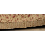 Greenland Home Fashions Antique Rose 136 Thread Count Bed Skirt; King
