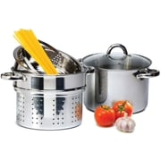 Imperial Home 4 Piece 8 Qt. Pasta Cooker Set w/ Lid