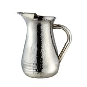 Elegance by Leeber Hammered Pitcher; 8'' H x 4'' W x 4'' D