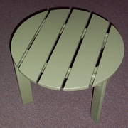 Prairie Leisure Design Side Table; Sage