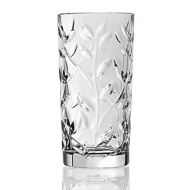 Lorren Home Trends Laurus RCR Crystal Highball Glass (Set of 6)