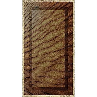 No Slip Mat by Versatraction Kahuna Grip Sand Ripples Shower Mat