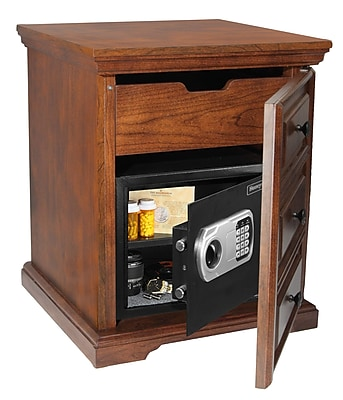 Honeywell 0.83 cu.ft. Digital Lock Cabinet/End Table Safe (5103SL)