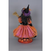 Karen Didion Spooktacular Halloween Lighted Glow Witch Figurine