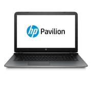 "HP Pavilion 17-g161us 17.3"" HD BrightView Intel® Core™ i3-5020U 1TB ,6GB Windows 10 Home Notebook, Silver"