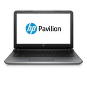 "HP Pavilion 14-ab166us 14"" HD BrightView Intel® Core™ i3-5020U 1TB, 6GB Win 10 Home Notebook, Silver"