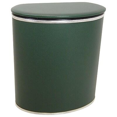 Redmon Euro Edition Laundry Hamper; Green