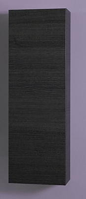 Iotti by Nameeks Time Short Storage Accent cabinet; Gray Oak