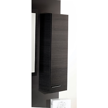 Iotti by Nameeks Simple Short Storage Accent cabinet; Gray Oak