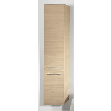 Iotti by Nameeks New Day Tall Storage Accent cabinet; Natural Oak