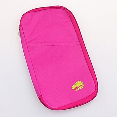 Best Desu Passport Holder Wallet, Hot Pink