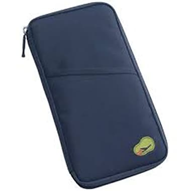 Best Desu Passport Holder Wallet, Navy Blue