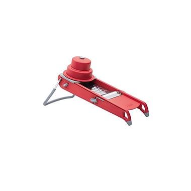 de BUYER – Mandoline « Swing » en acier inoxydable, rouge