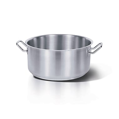 Homichef Stainless Steel Saute Pan with Brazier Handle, 6.25