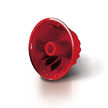 Silkomart Silicone – Moule Uniflex kouglof de 8,66 x 4,33 po, rouge (SFT250)
